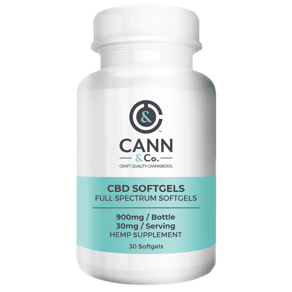 Cann & Co CBD Softgels Full Spectrum Softgels