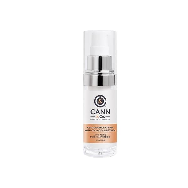 CBD Radiance Cream with Collagen & Retinol