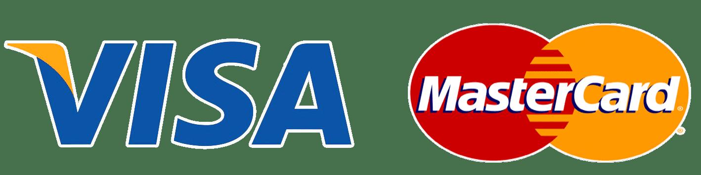 Payment Logos - VISA & Mastercard